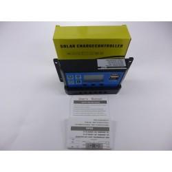 Controlador Solar 10A Dual Usb 5V Control Voltaje Batería