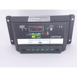 Controlador De Carga Baterías 12v Y 24v Panel Solar 30a