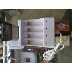 Cargadores para baterías recargables AA y AAA