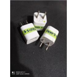 Cargador 5V 1A sin cable