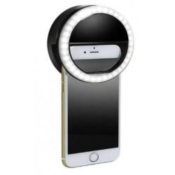 Aro de luz para celulares