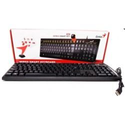 Teclado marca Genius modelo KB100 español, cableado