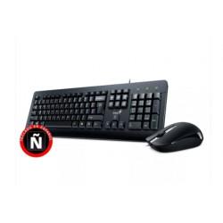Combo de mouse y teclado cableados marca Genius