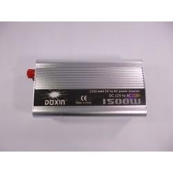 Inversor 1500w Convierte Batería De Carro 12v A 110v
