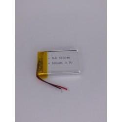 Batería De Polímero De Litio 3.7 V 530 Mah